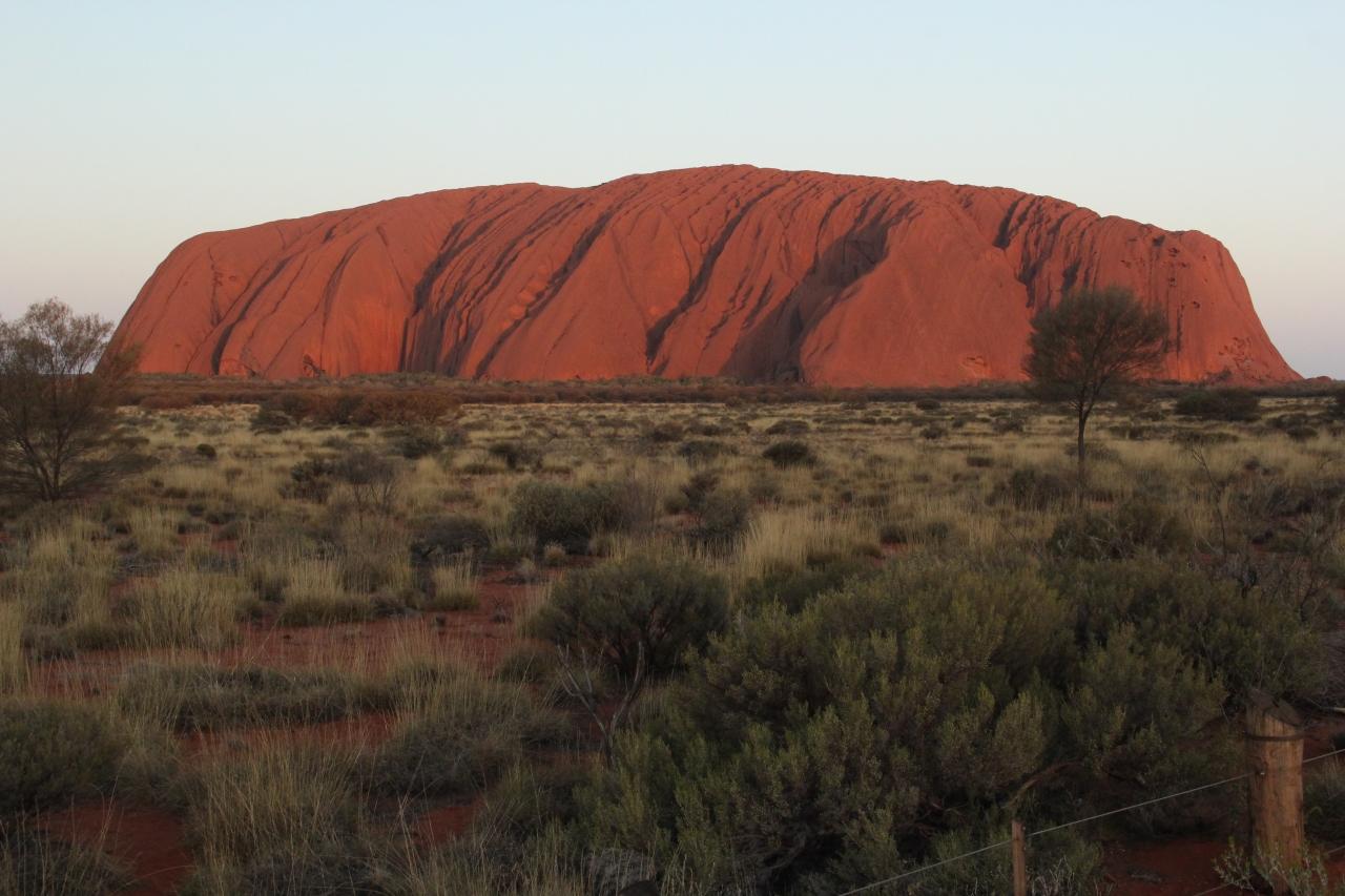 Uluru and the RoadHome