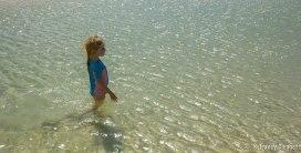 Lily enjoys the Lagoon