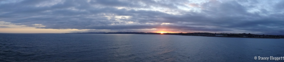 Sunrise over Tassie