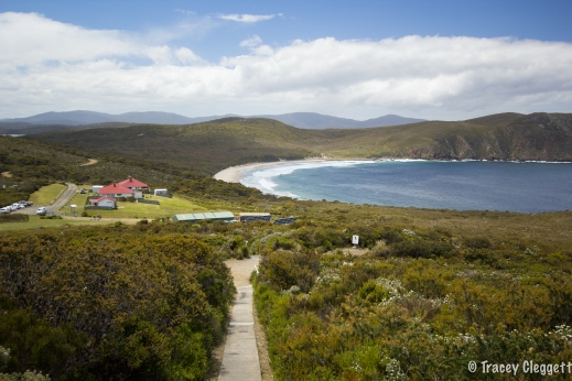 View from the Bruny Island Lighthouse