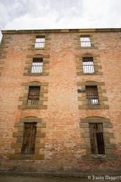 Walls of the Port Arthur Penitentiary