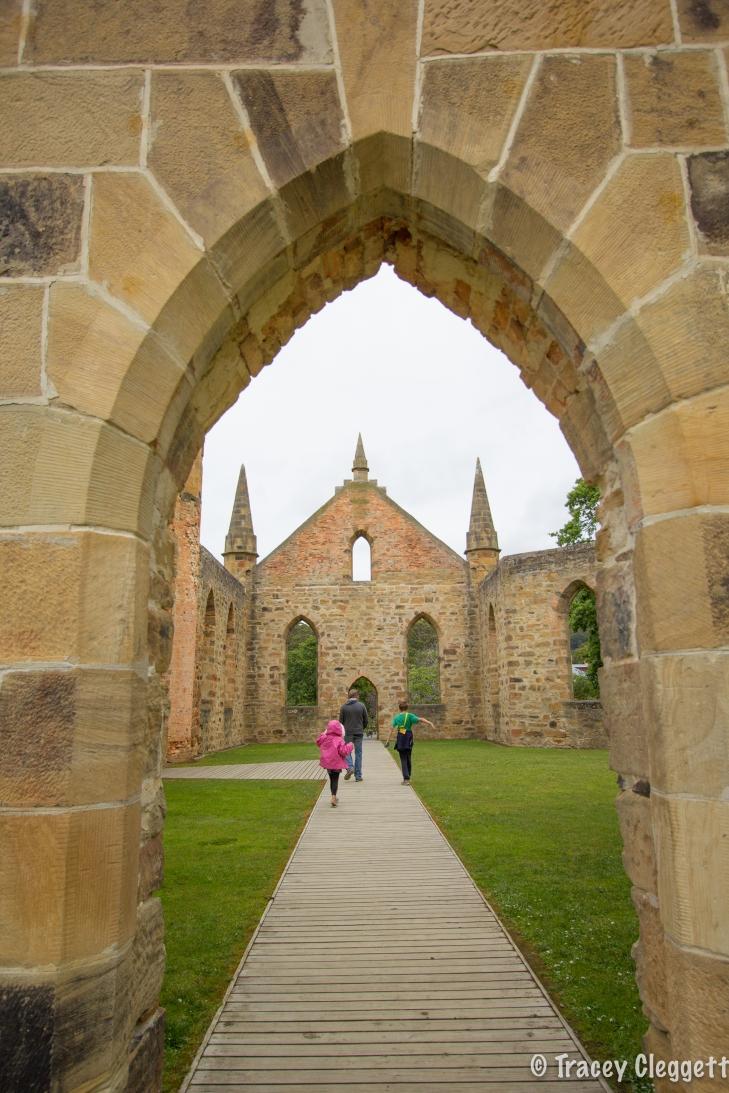 The Church ruins